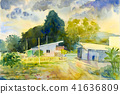 水彩畫 水彩 繪畫 41636809