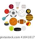 sport, balls, icon 41641617