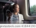 train, mobile, person 41644193