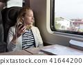 train, mobile, person 41644200