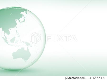 地球圖像(綠色) 41644413