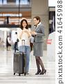 國外旅遊 機場 女生 41645988
