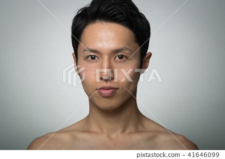 맨즈 에스테틱 남성 뷰티 젊은 일본인 남성 41646099