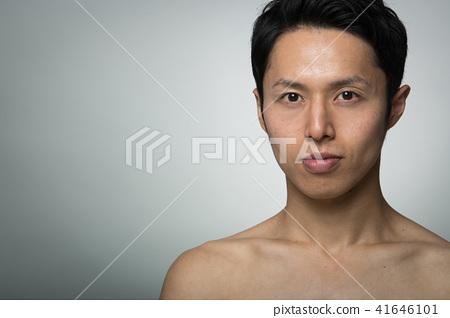 맨즈 에스테틱 남성 뷰티 젊은 일본인 남성 41646101