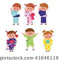 เด็ก Yukata Bon Odori 41646119