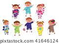 孩子们去参加这个节日 41646124