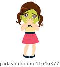 nausea, girl, sick 41646377