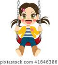 Girl On Swing 41646386