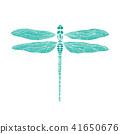 蜻蜓 矢量 矢量图 41650676
