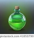 Green poison bottle 41650790