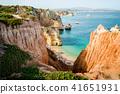 Camilo Beach in Lagos, Algarve, Portugal. 41651931