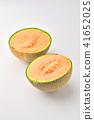 甜瓜切成兩半 41652025