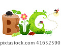 Bugs Lettering Illustration 41652590