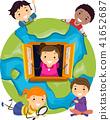 孩子 小孩 地球仪 41652687