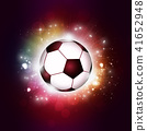 Footbal Ball Sport Background 41652948