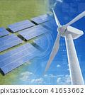 风力发电机 41653662