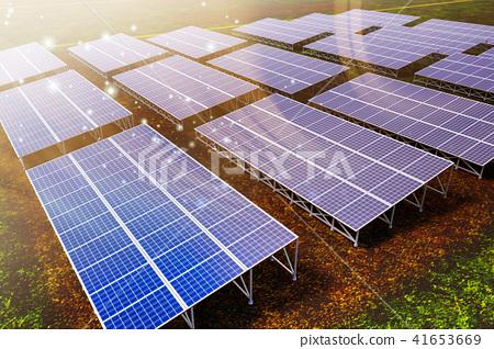 太陽能發電 41653669