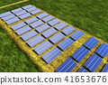 太阳能发电 41653676