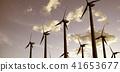 風能發電機 風車 風力渦輪機 41653677