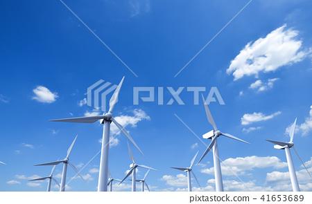풍력 발전기 41653689
