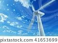 風能發電機 風車 風力渦輪機 41653699
