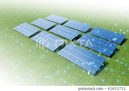 太阳能发电 41653711
