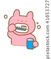 兔子 牙膏 牙粉 41653727