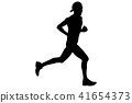 runner, cap, athlete 41654373