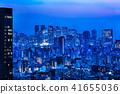 东京市区夜视图 41655036