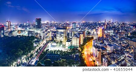 도쿄 도심의 야경 41655044