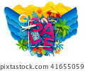 sale, summer, background 41655059
