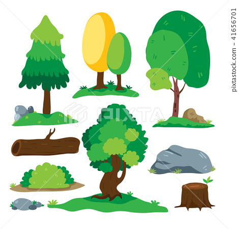tree vector collection design 41656701