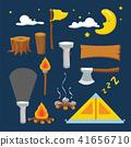 camp vector collection design 41656710