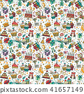 birthday,seamless,pattern 41657149