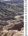 峽谷 山谷 荒涼蕭條的 41658129