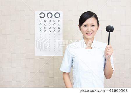 有護目鏡的護士 41660508