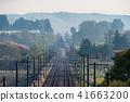 货运火车金太郎清晨穿越东北干线 41663200