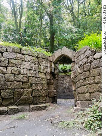 World heritage Terayama coal kiln ruins 41663885