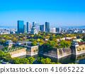 가을의 오사카와 초고층 빌딩 41665222