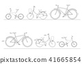 bike, bicycle, set 41665854