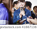 女性朋友智能手機 41667136