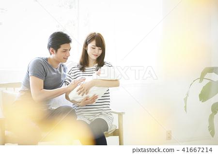 嬰兒撫養孩子 41667214