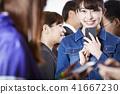 女性朋友智能手機 41667230