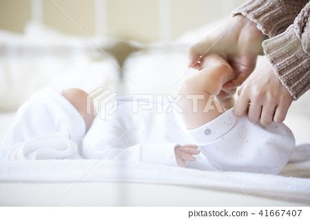 嬰兒 寶寶 寶貝 41667407