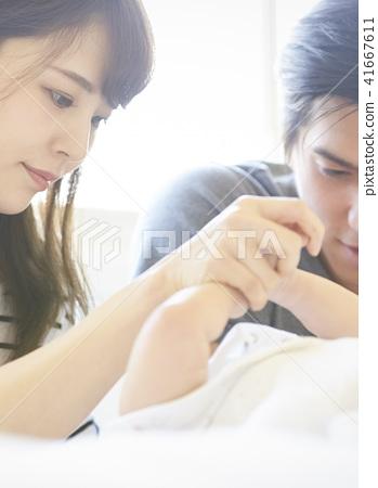 嬰兒撫養孩子 41667611