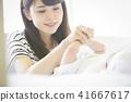 嬰兒撫養孩子 41667617