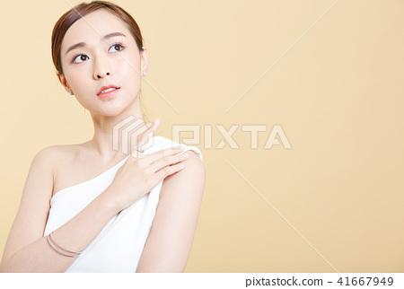 女性肖像系列顏色回 41667949