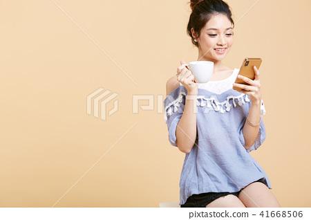 女人放鬆 41668506