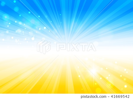 Colorful Radial Background Yellow Blue 2 Glitter 41669542