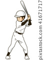 เบสบอล,กีฬาเบสบอล,คนตีลูก 41671717